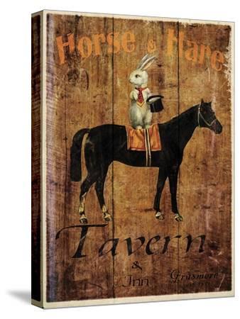 Horse & Hare Tavern-Jason Giacopelli-Stretched Canvas Print