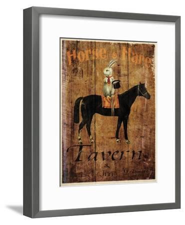 Horse & Hare Tavern-Jason Giacopelli-Framed Art Print