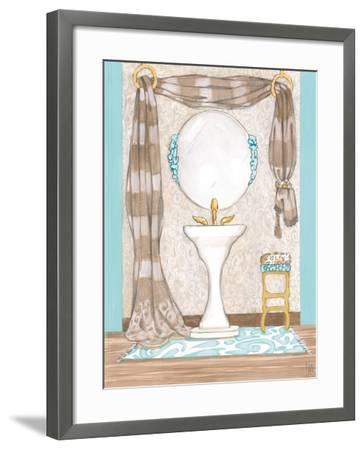 Bathroom Elegance II- Laurencon-Framed Art Print