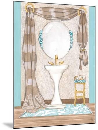 Bathroom Elegance II- Laurencon-Mounted Art Print
