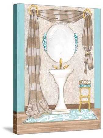 Bathroom Elegance II- Laurencon-Stretched Canvas Print