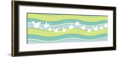 Migration I-Patty Young-Framed Art Print