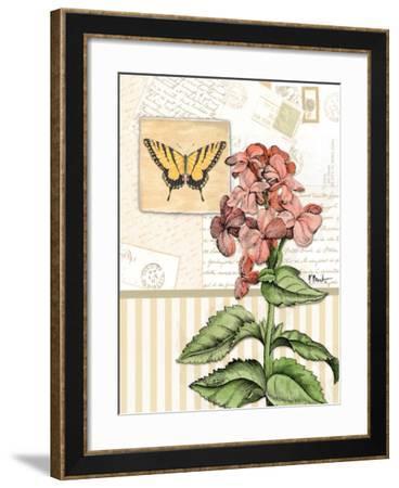 Botanical Collage I-Paul Brent-Framed Art Print