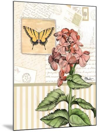 Botanical Collage I-Paul Brent-Mounted Art Print