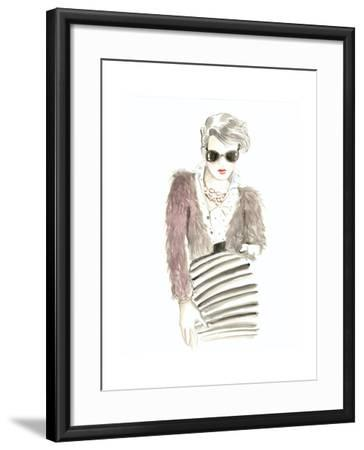 Runway Fashion I- Laurencon-Framed Art Print