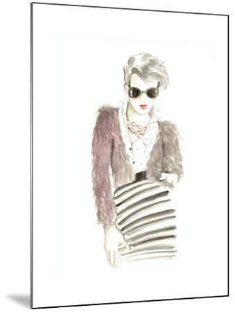 Runway Fashion I- Laurencon-Mounted Art Print