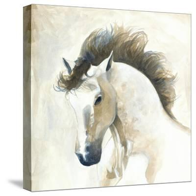 Horse II- Laurencon-Stretched Canvas Print