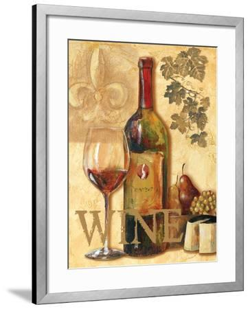 Wine III-Gregory Gorham-Framed Art Print