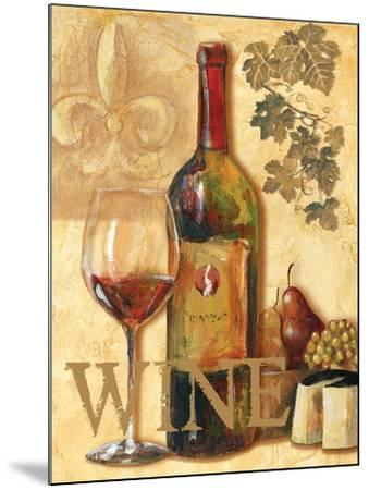 Wine III-Gregory Gorham-Mounted Art Print