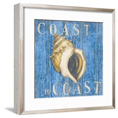Coastal USA Conch-Paul Brent-Framed Art Print