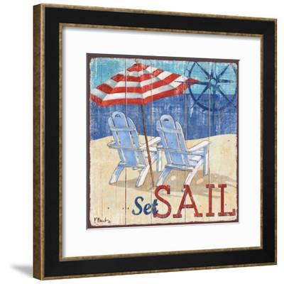Seas the Day II-Paul Brent-Framed Art Print