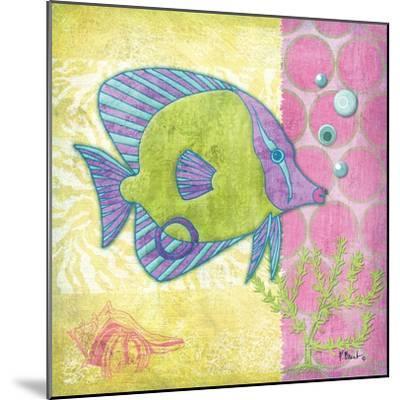 Fantasy Reef VI-Paul Brent-Mounted Art Print