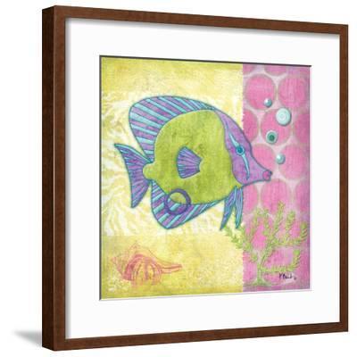 Fantasy Reef VI-Paul Brent-Framed Art Print