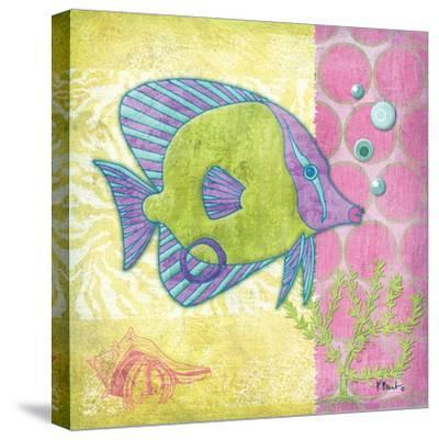 Fantasy Reef VI-Paul Brent-Stretched Canvas Print