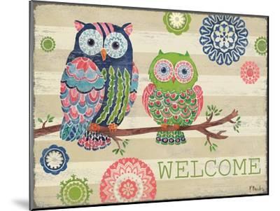 Groovy Owls I-Paul Brent-Mounted Art Print