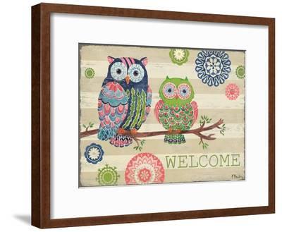 Groovy Owls I-Paul Brent-Framed Art Print