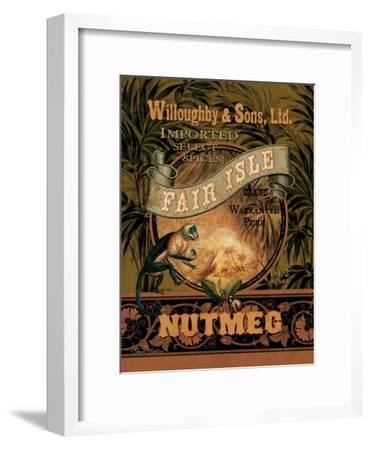 Nutmeg-Pamela Gladding-Framed Art Print