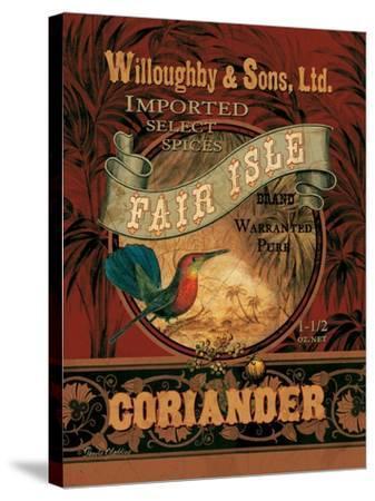 Coriander-Pamela Gladding-Stretched Canvas Print