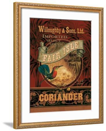 Coriander-Pamela Gladding-Framed Art Print