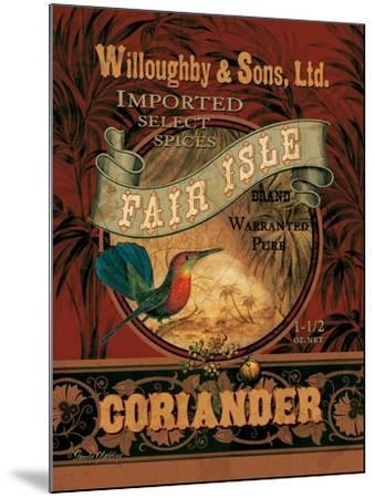 Coriander-Pamela Gladding-Mounted Art Print