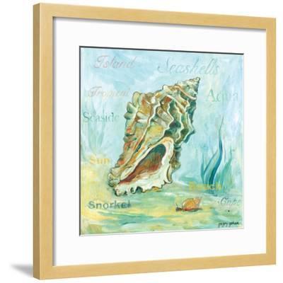 Marine Life Motif VI-Gregory Gorham-Framed Art Print