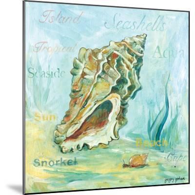 Marine Life Motif VI-Gregory Gorham-Mounted Art Print