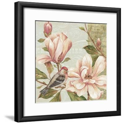 Magnolia Collage II-Pamela Gladding-Framed Art Print