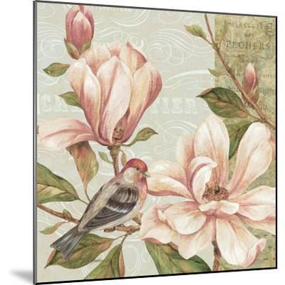 Magnolia Collage II-Pamela Gladding-Mounted Art Print