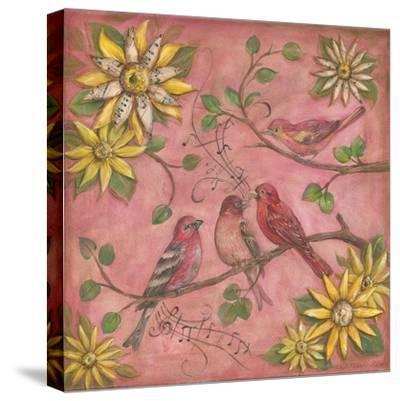 Whistlers Garden III-Kate McRostie-Stretched Canvas Print