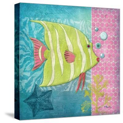 Fantasy Reef II-Paul Brent-Stretched Canvas Print