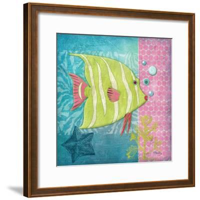 Fantasy Reef II-Paul Brent-Framed Art Print