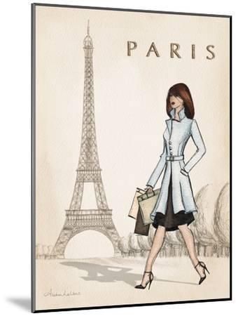 Paris-Andrea Laliberte-Mounted Art Print