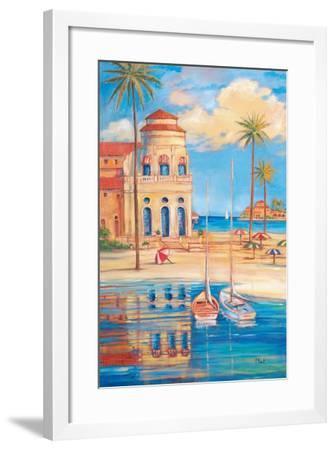 Beach Club I-Paul Brent-Framed Art Print