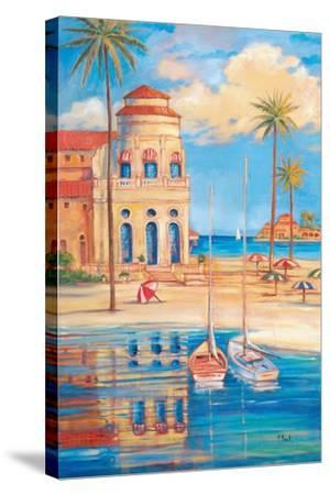 Beach Club I-Paul Brent-Stretched Canvas Print