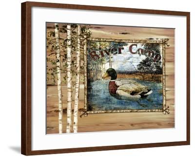 Forest Collage III-Paul Brent-Framed Art Print