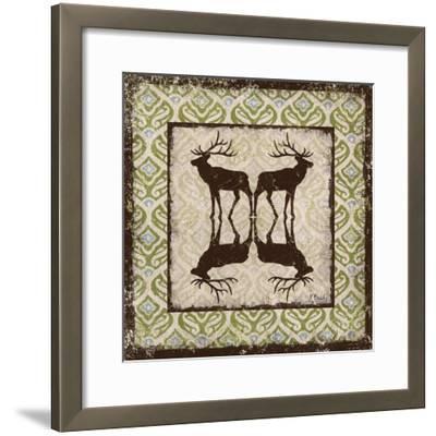 Modern Lodge Azure I-Paul Brent-Framed Art Print