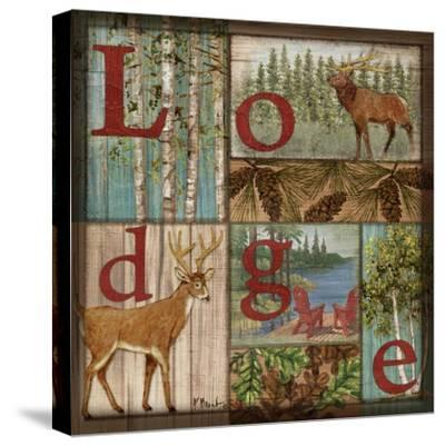 L is for Lodge-Paul Brent-Stretched Canvas Print