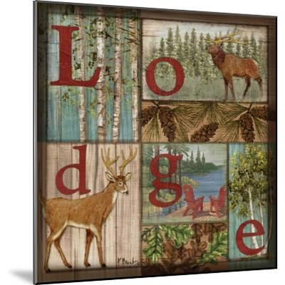 L is for Lodge-Paul Brent-Mounted Art Print