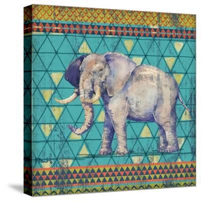 Tribal Trek IV-Paul Brent-Stretched Canvas Print