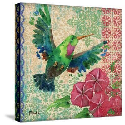 Zealous Hummingbird I-Paul Brent-Stretched Canvas Print