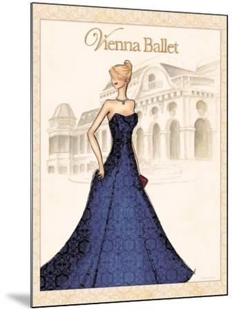 Ballet-Andrea Laliberte-Mounted Art Print