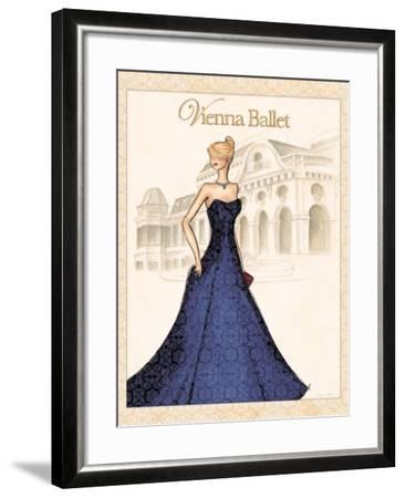 Ballet-Andrea Laliberte-Framed Art Print