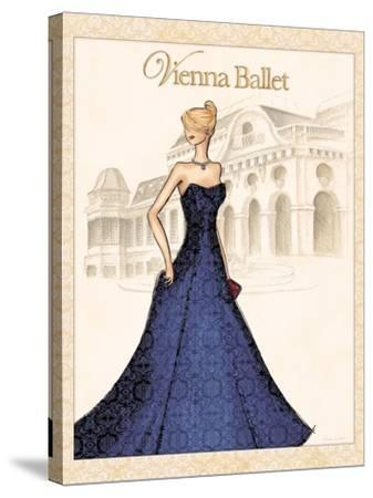 Ballet-Andrea Laliberte-Stretched Canvas Print