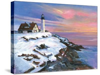 Winter's Light-Gregory Gorham-Stretched Canvas Print