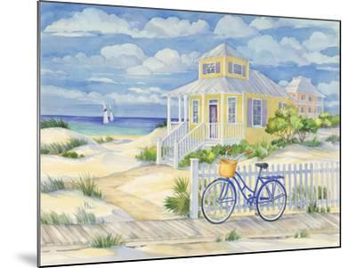 Beach Cruiser Cottage II-Paul Brent-Mounted Art Print