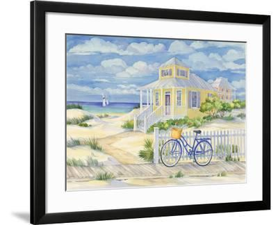 Beach Cruiser Cottage II-Paul Brent-Framed Art Print