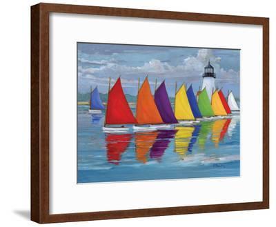 Rainbow Fleet-Paul Brent-Framed Premium Giclee Print