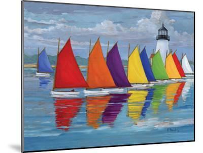 Rainbow Fleet-Paul Brent-Mounted Premium Giclee Print