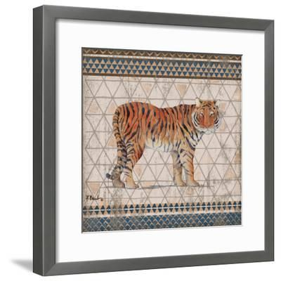 Tribal Trek Neutral III-Paul Brent-Framed Art Print