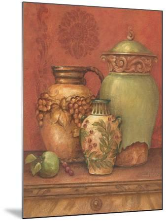 Tuscan Urns II-Pamela Gladding-Mounted Art Print